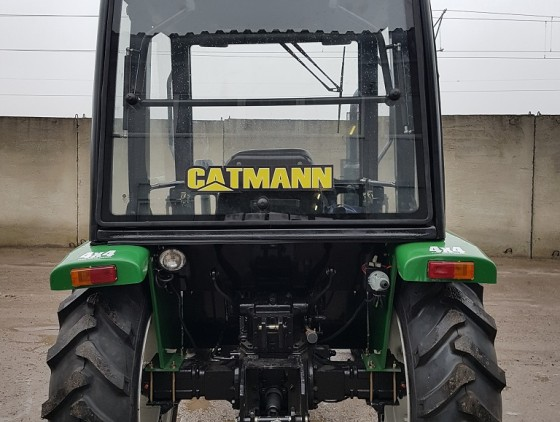 Минитрактор CATMANN XD-65.4 с кабиной