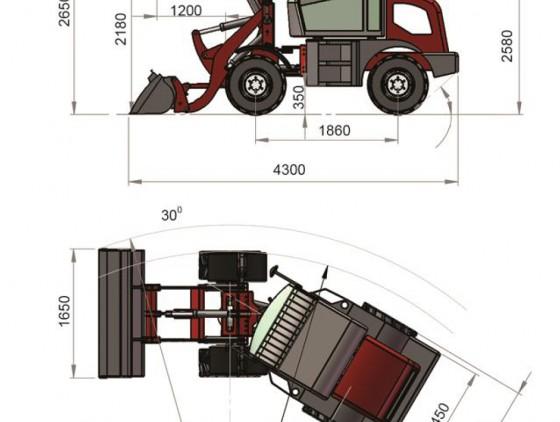 Погрузчик CATMANN XD-90.4 Telematic