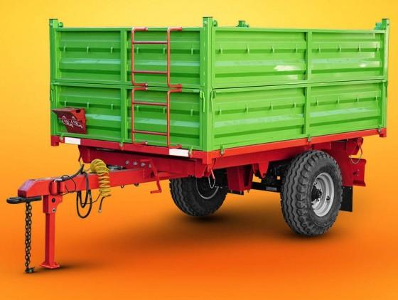 Полуприцеп тракторный самосвальный П230