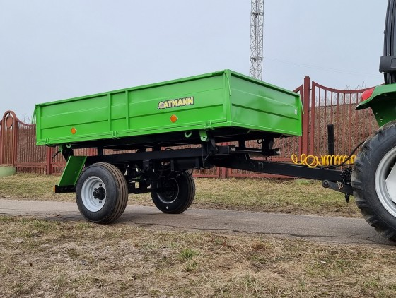 Полуприцеп тракторный самосвальный CATMANN ПТ-3,5